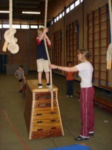 Ouder en Peuter / Kleuter gymnastiek